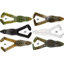 Soft Lure V&m Bayou Bullfrog  9cm  Pack Of 5