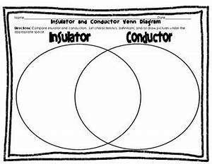 electricity foldable and venn diagram conductors and With on pinterest electric circuit conductors and science worksheets