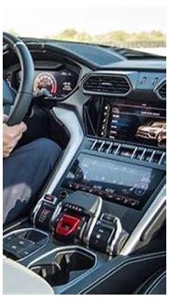 Lamborghini Urus interior leaked