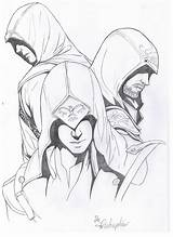 Creed Drawing Drawings Assassin Dibujos Deviantart Coloring Sketch Character Novel Zeichnen Graphic Marvel Colorear Mortal Kombat Sketches Dibujo Arte Anime sketch template