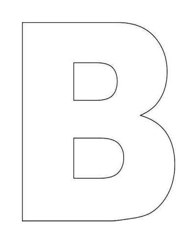 large alphabet letter templates printable