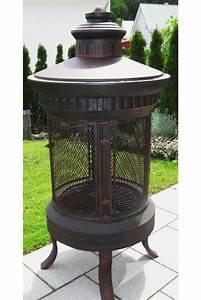 feuerstelle feuerkorb rostfreu sonstiges fur den garten With feuerstelle garten mit sonnensegel balkon seitlich