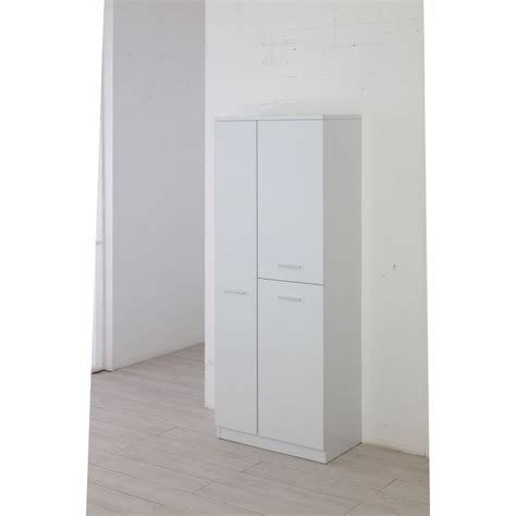 armadietto per bagno armadio portascope moderno 3 ante cm 60x34x148 5h collyshop