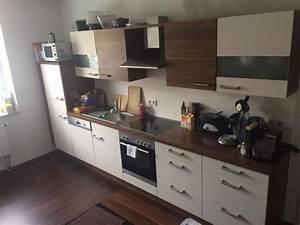 kuchenzeile mit einbaugeraten nobilia 2 1 2 jahre alt in With unterbaulampen küche
