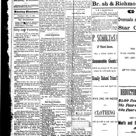 Whitney, both sides, review and herald, feb. Review And Herald Feb18,1890 / The Record Newspaper 20 February 1890 By The Record Issuu ...