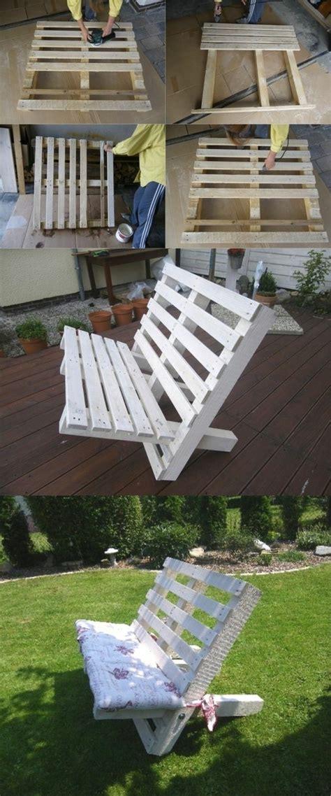 canap pour terrasse 1001 idées pour fabriquer un banc en palette charmant