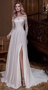 Hochzeitskleider Für Gäste : 40 beste weg von der schulter brautkleider hochzeitskleider f r g ste pinterest ~ Orissabook.com Haus und Dekorationen