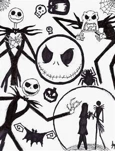 nightmare before christmas characters drawings - Google ...