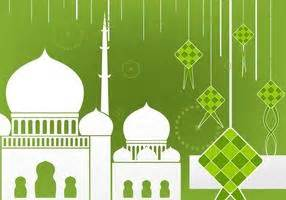 background lebaran hd gambar islami