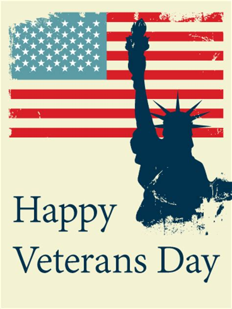 happy veterans day card birthday greeting cards  davia