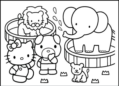 zoo animals coloring pages  coloring pages  kids