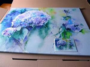 Dreiteilige Bilder Auf Leinwand : drucke unserer aquarelle auf leinwand bilder aquarelle vom meer mehr von frank koebsch ~ Orissabook.com Haus und Dekorationen