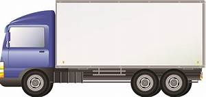 Green Delivery Truck Clipart