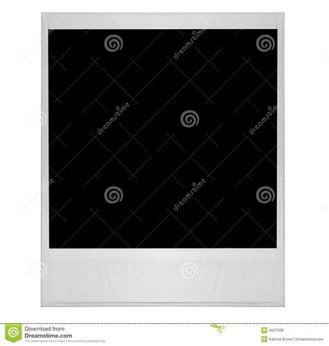 high resolution single  polaroid film blank royalty