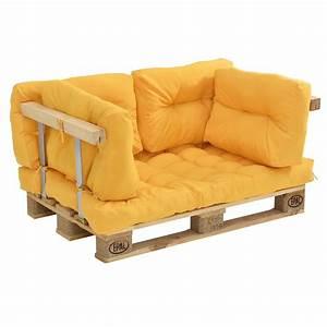 Paletten Couch Kissen : euro paletten sofa senffarben armlehne 2 sitzer palettenpolster kissen ebay ~ Orissabook.com Haus und Dekorationen