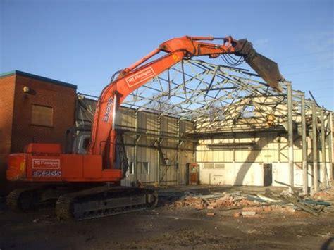demolition of bureau veritas site