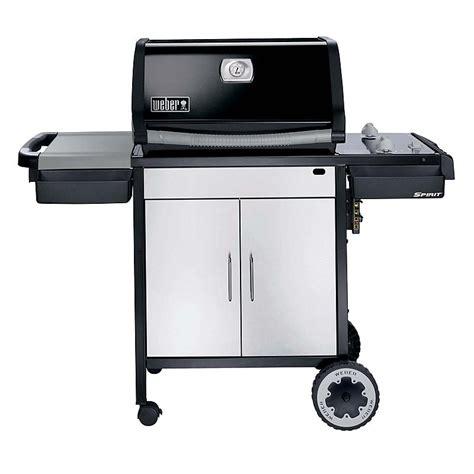 weber 3711001 spirit e 210 lp gas grill black