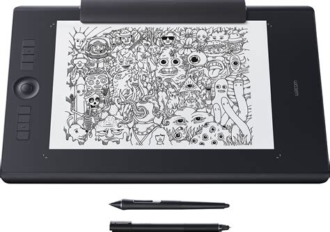 wacom intuos pro paper edition  tablet grande negro