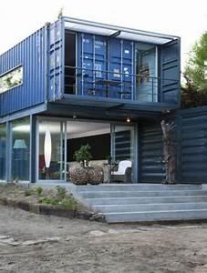 Container Anbau An Haus : metallisch fassade treppe au enbereich extravagant container container h user pinterest ~ Indierocktalk.com Haus und Dekorationen
