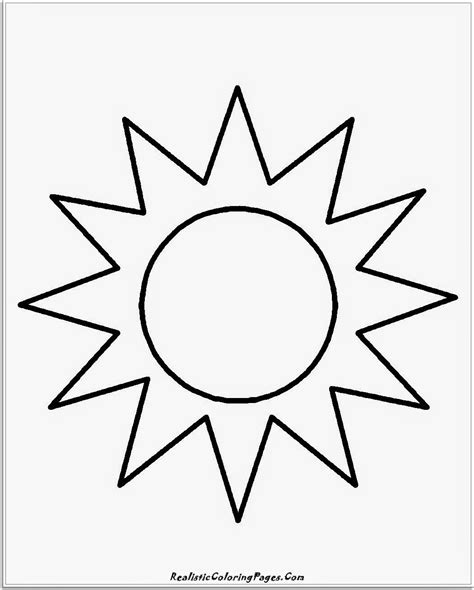 coloring page   sun coloring home