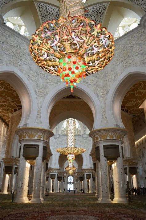 Mosque Chandelier by Sheikh Zayed Mosque Chandelier Chandelier Decorating Ideas