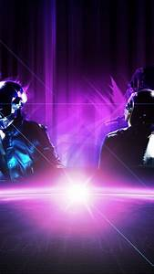 Wallpapers for Galaxy - Daft Punk Purple
