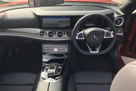 Instead, hold the indicator for two seconds to instruct the car to do the rest itself. Mercedes-Benz E 220 d AMG Line Cabriolet | Eurekar