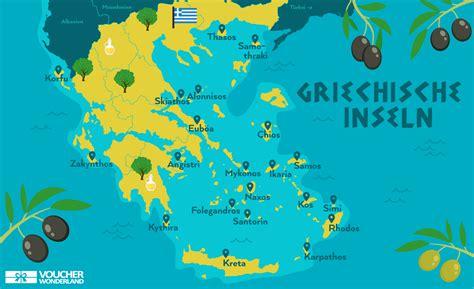 griechenland karte inseln onlinebieb