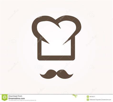 logo chef de cuisine élément de conception de logo de vecteur chef restaurant cuisinier illustration de vecteur