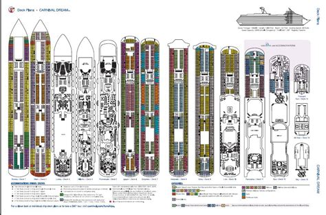 carnival spirit deck plans carnival spirit deck plan ship