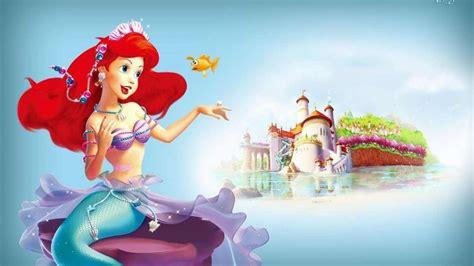 little mermaid disney fantasy animation cartoon adventure
