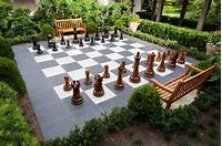 outdoor chess table 6 Simple Garden Projects to Tackle This Fall | HGTV's ...