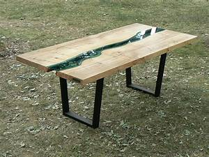 Holztisch Mit Glas : holztisch mit glas haus ideen ~ Frokenaadalensverden.com Haus und Dekorationen