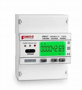 Em427 120  240v 10 100 A Single Phase Three Wire Digital