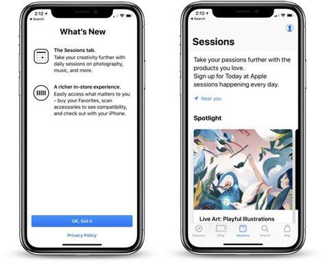 apple store app gains major update  refreshed design