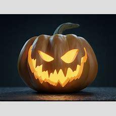 Halloween Pumpkin  Jackolantern 3d Evil Cgtrader