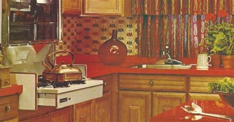 unique kitchen cabinets vintage home decorating tips 1970s http www 3048
