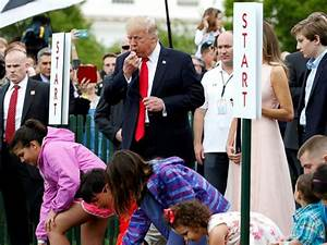 Trump family hosts its 1st White House Easter Egg Roll ...