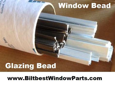 alenco window parts glazing bead hard  find glazing parts white  bronze minimum