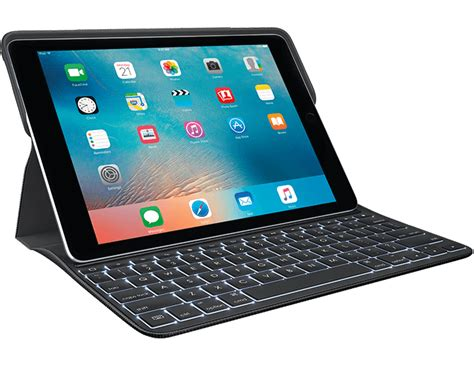 Logitech Create Ipad Pro Keyboard Case With Apple Pencil Holder