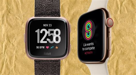 apple series 4 vs fitbit versa the battle of the smartwatches