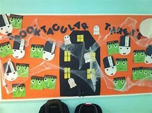 October bulletin boards, October and Frankenstein on Pinterest
