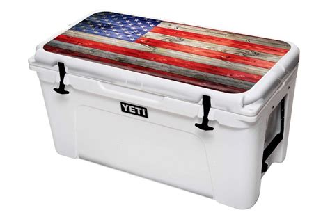 Yeti Usa by Usa Tuff Cooler Graphic Decal Wrap Kit For Yeti Cooler