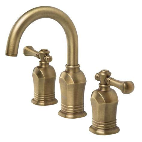 vintage bathroom sink faucets pegasus verdanza series 8 in widespread 2 handle high arc