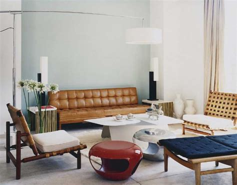 Inspiring Retro Living Room Design And Furniture Ideas To