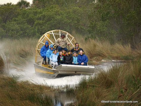 everglades fan boat rides airboat rides everglades national park travel na usa