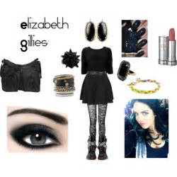 onyx earrings elizabeth gillies jade west polyvore
