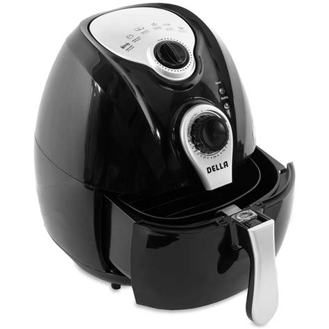 fryer air electric della oil cooking less airfryer temperature easy deep times healthy control digital fryers 1500w technology rapid system