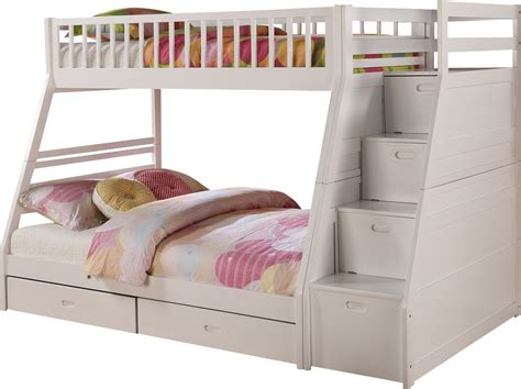 bunk beds with storage bunk bed with storage 18781