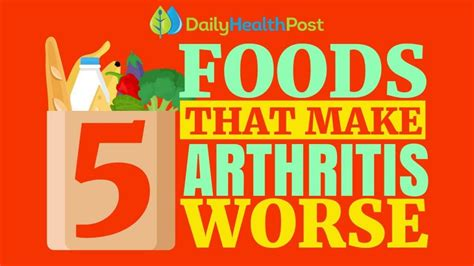 Video: 5 Worst Foods For Arthritis And Joint Pain